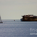 Spitbank Fort Martello Tower by Terri Waters