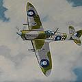 Spitfire Mk.viii by Murray McLeod