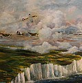 Spitfire's Over Dover by Robert Wright