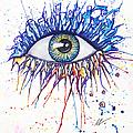 Splash Eye 1 by Kiki Art