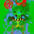 Splattered Series 11 by Teri Schuster