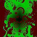 Splattered Series 12 by Teri Schuster