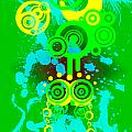 Splattered Series 3 by Teri Schuster