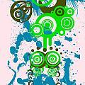 Splattered Series 4 by Teri Schuster