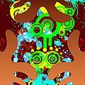 Splattered Series 9 by Teri Schuster