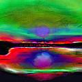 Splendid Lake by Jean-Claude Delhaise
