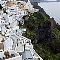Splendor Of Santorini by Christie Kowalski