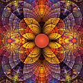 Split Crops Fractal by Peggi Wolfe