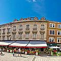 Split Historic Square Panoramic View by Brch Photography