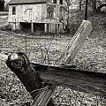 Split Rail Fence by Fran Gallogly