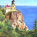 Split Rock Lighthouse by Vicki Brevell