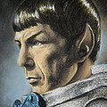 Spock - The Pain Of Loss by Liz Molnar