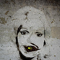 Spoiled Portrait In The Wall by Ramon Martinez