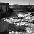 Spokane Falls Spring Flow by Paul DeRocker