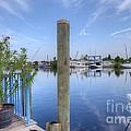 Sponge Boat Docks 2  by L Wright