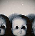 Spooky Doll Heads by Patricia Strand