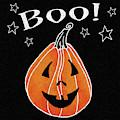 Spooky Jack O Lantern Ii by Elyse Deneige