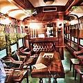 Spooky Old Train  by Robert Rhoads