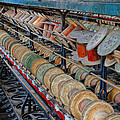 Spools At Lonaconing Silk Mill by Dave Mills