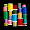 Spools of Thread by Jim Hughes