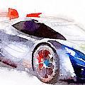 Sport Car 3 by Yury Malkov
