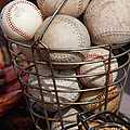 Sports - Baseballs And Softballs by Art Block Collections