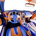 Sports Car Interior by Ioan Panaite
