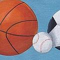 Sports Line Up by Tracie Davis