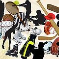 Sports Sports Sports by Susan  Lipschutz