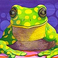 Spotted Frog by Catherine G McElroy
