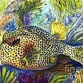 Spotted Trunkfish by Carol Wisniewski