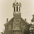 Sprague Church 2 by Cathy Anderson
