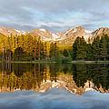 Sprague Lake Reflections by Stephen  Vecchiotti