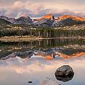 Sprague Lake Sunrise 2 by Lee Kirchhevel