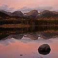 Sprague Lake Sunrise by Lee Kirchhevel