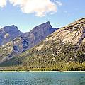 Spray Lake Mountains by Matthew Naiden