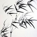 Sprig Of Bamboo by Svetlana Ilyina