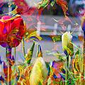 Spring Abstraction IIi by Tina Baxter