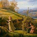 Spring by Anne Francois Janmot