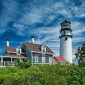 Spring At Cape Cod Light by Michael Blanchette