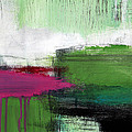 Spring Became Summer- Abstract Painting  by Linda Woods