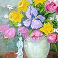 Spring Blooms  by Judie White