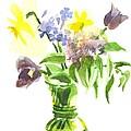 Spring Bouquet IIi by Kip DeVore