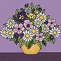Spring Bouquet by Medana Gabbard
