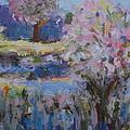 Spring Crabapples by Deborah  Schooley