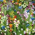 Spring Explosion by Debra Wronzberg