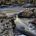Spring Flow Through The Dells by Dale Kauzlaric