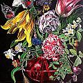 Spring Flower Bouquet by Safir  Rifas