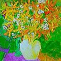 Spring Flowers by Ana Maria Edulescu
