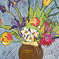 Spring Flowers by Frances Treanor